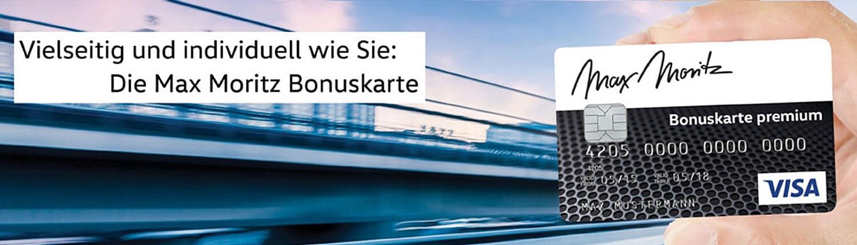 Kundenkarten Autohaus Max Moritz