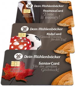 Value Cards for targeted customers