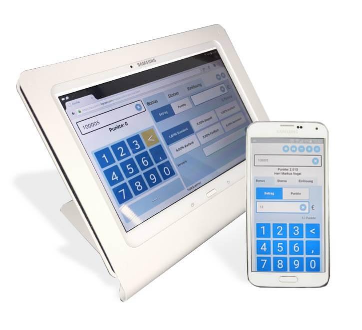 EcoTab - Tablet als Terminal für Kundenkarten